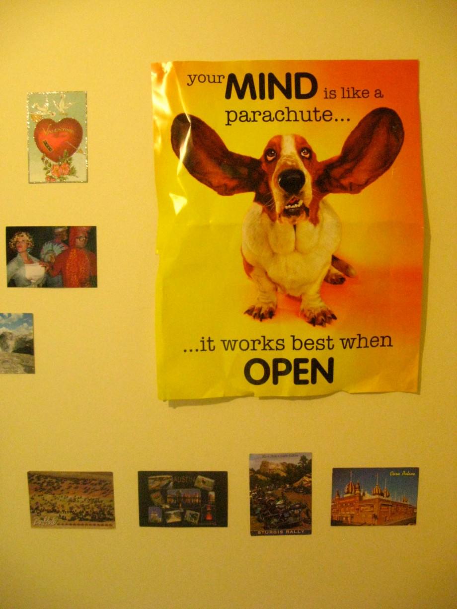 """""""Valentine from Lisa, Amazing Poster from Dabz, Poscards from Pops."""""""