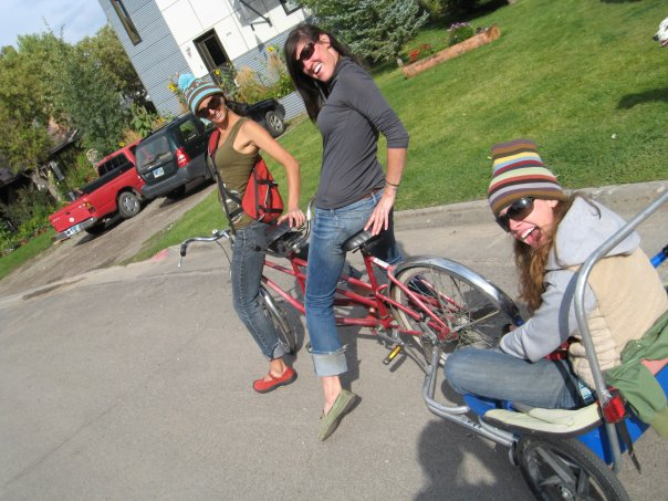 bicycle built for three.