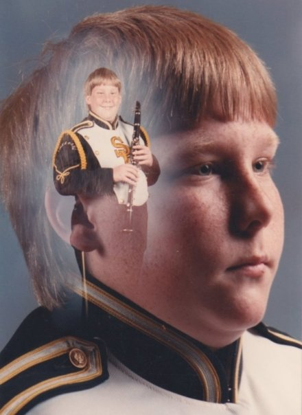 Ever wondered what the kid with the clarinet is really thinking?
