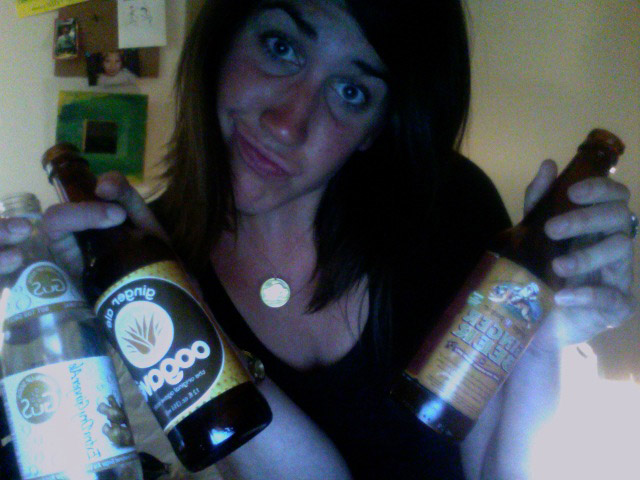 what?  ain't nothin' wrong with a graphic designer who gets paid in ginger beer.