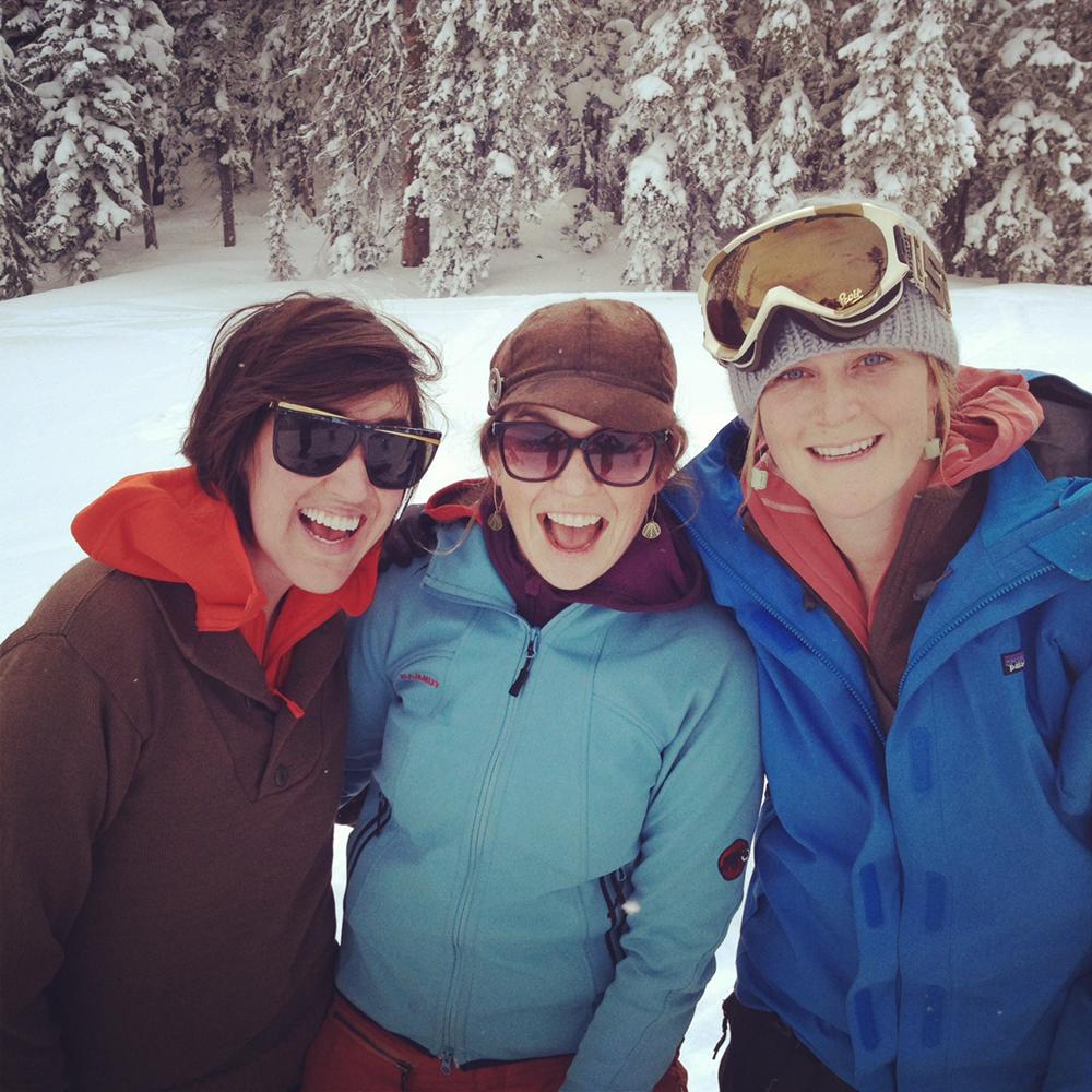 skiingladies