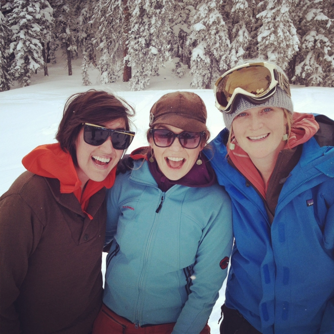 skiingladies