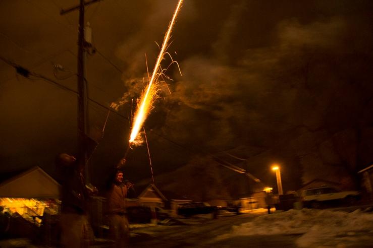 boys fireworks