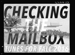 checking the mailbox // a story + playlist.