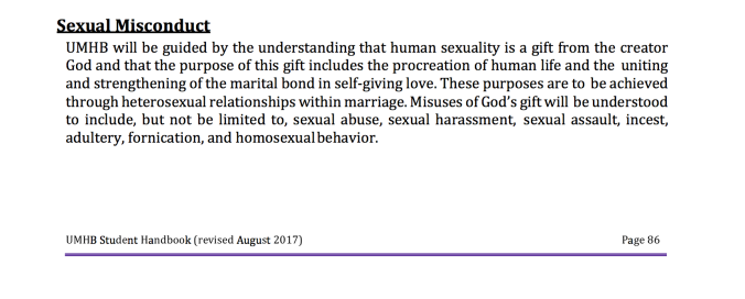 UMHB_Handbook_homosexual